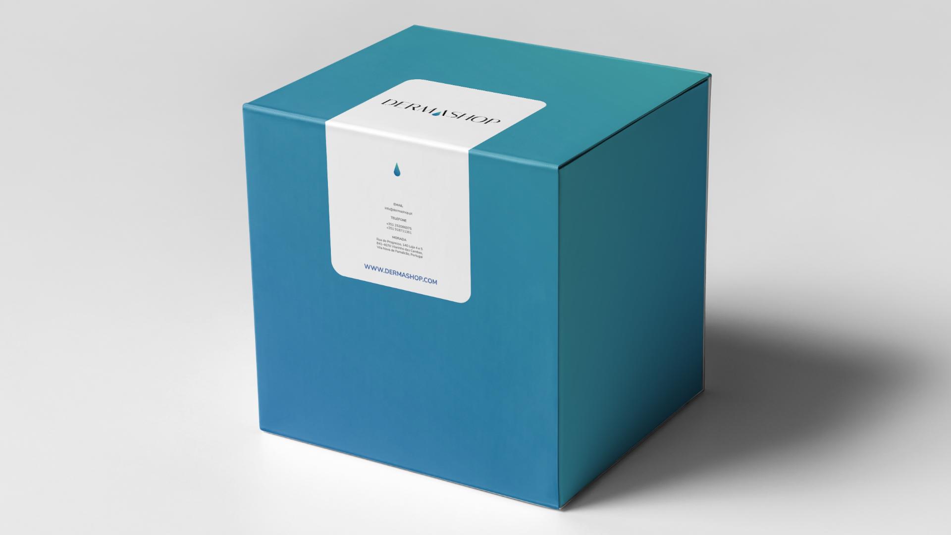 Branding e packing dermashop