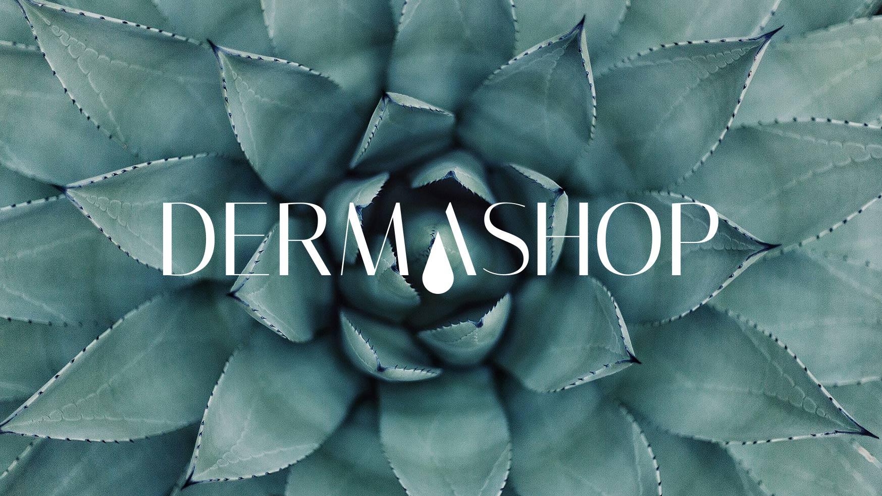 Dermashop desenvolvimento do Branding, marketing digital, web design