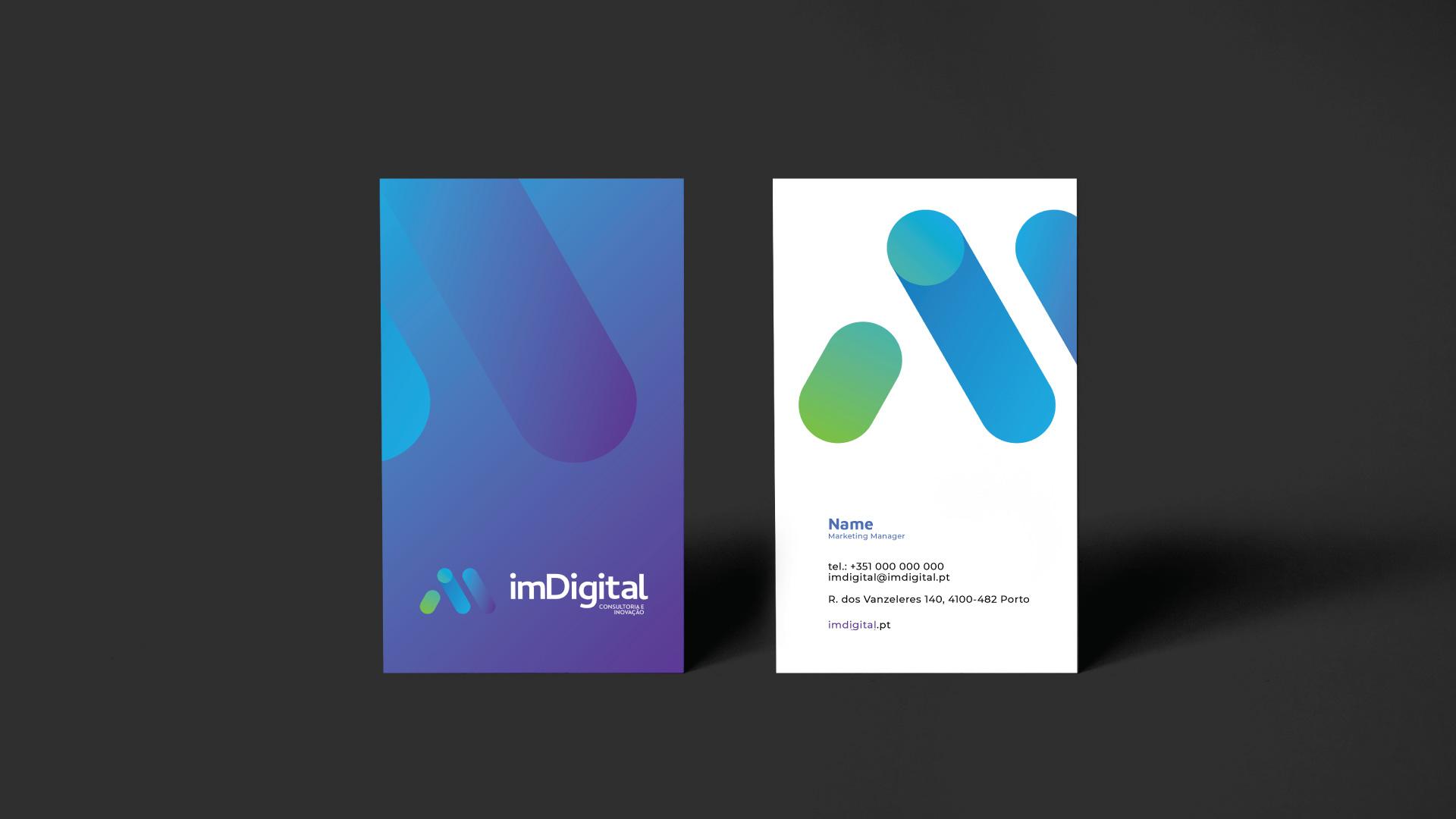 ImDigital desenvolvimento do branding