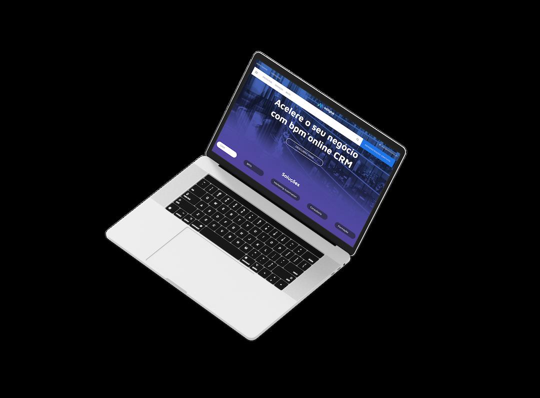 imDigital mockup web site, web design