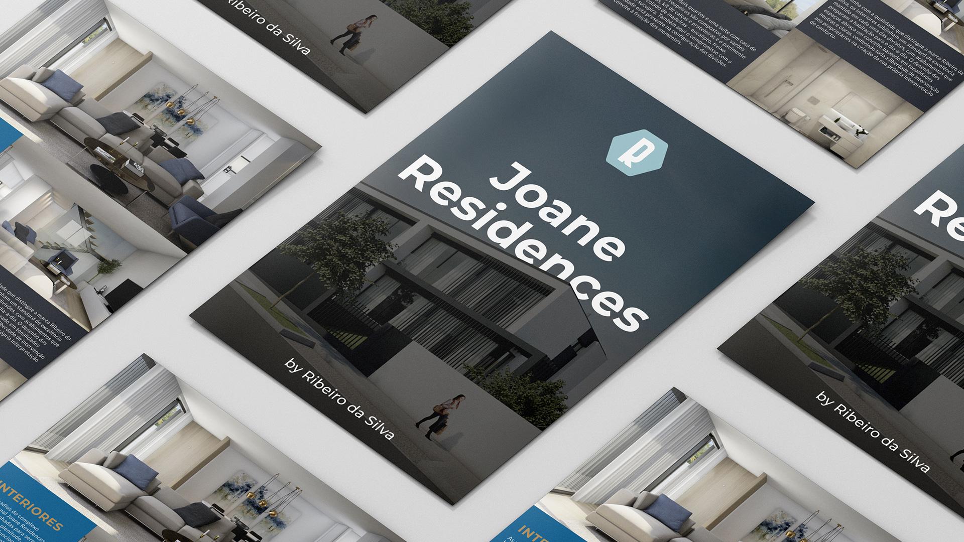 Flyer Joane Residences Branding