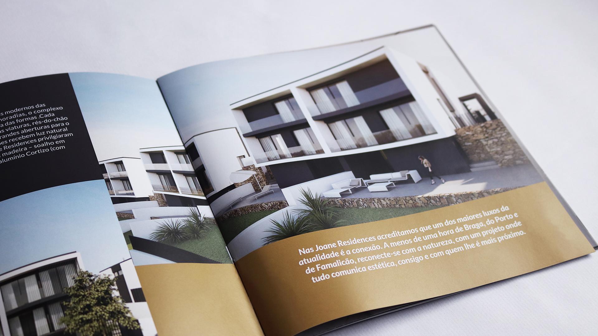 Borchura Joane Residences, Branding