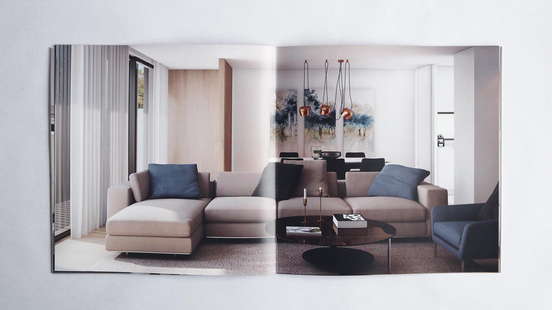 Brochura Pormenor Joane Residences, branding