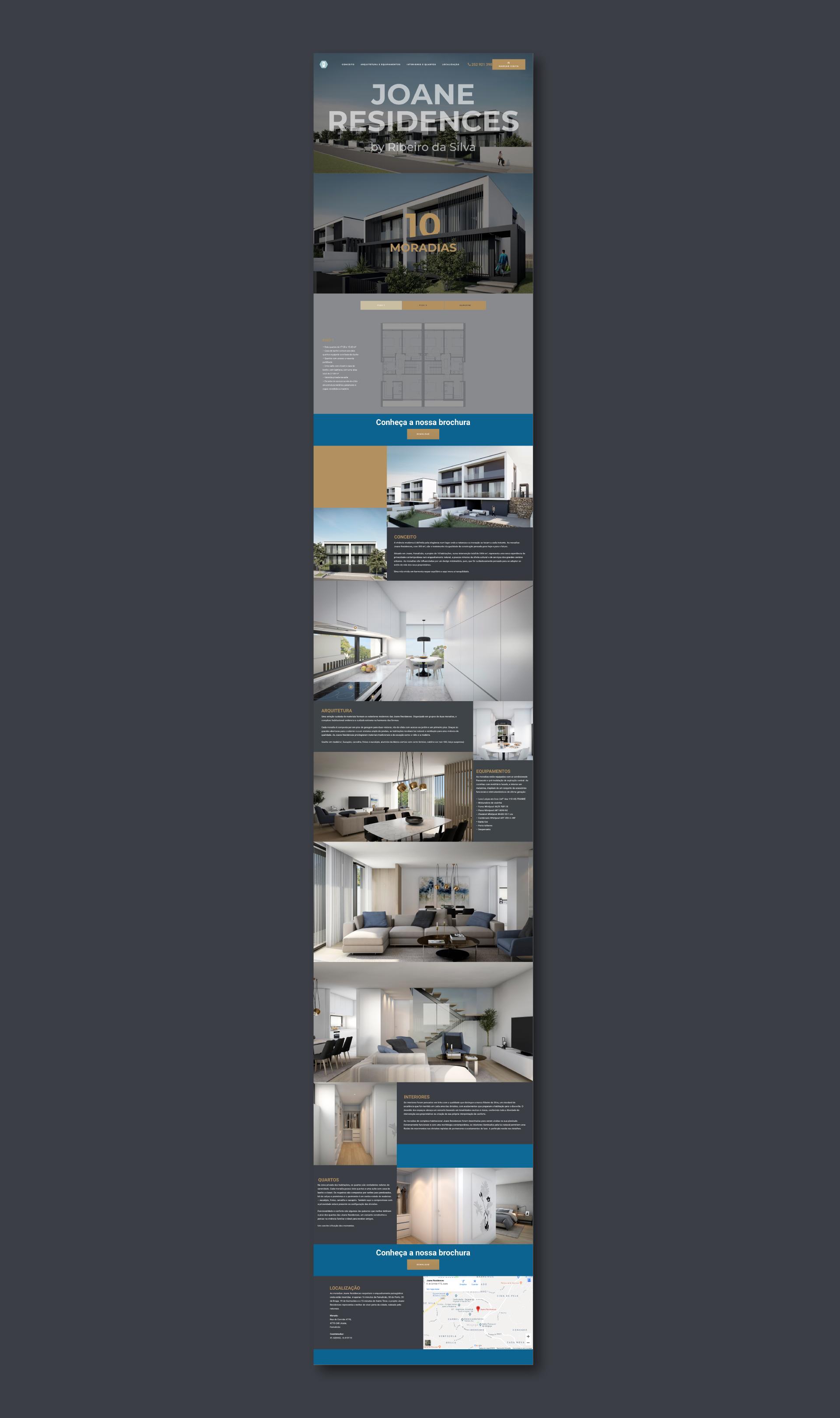 Site Joane Residences, Mokcup Web Design