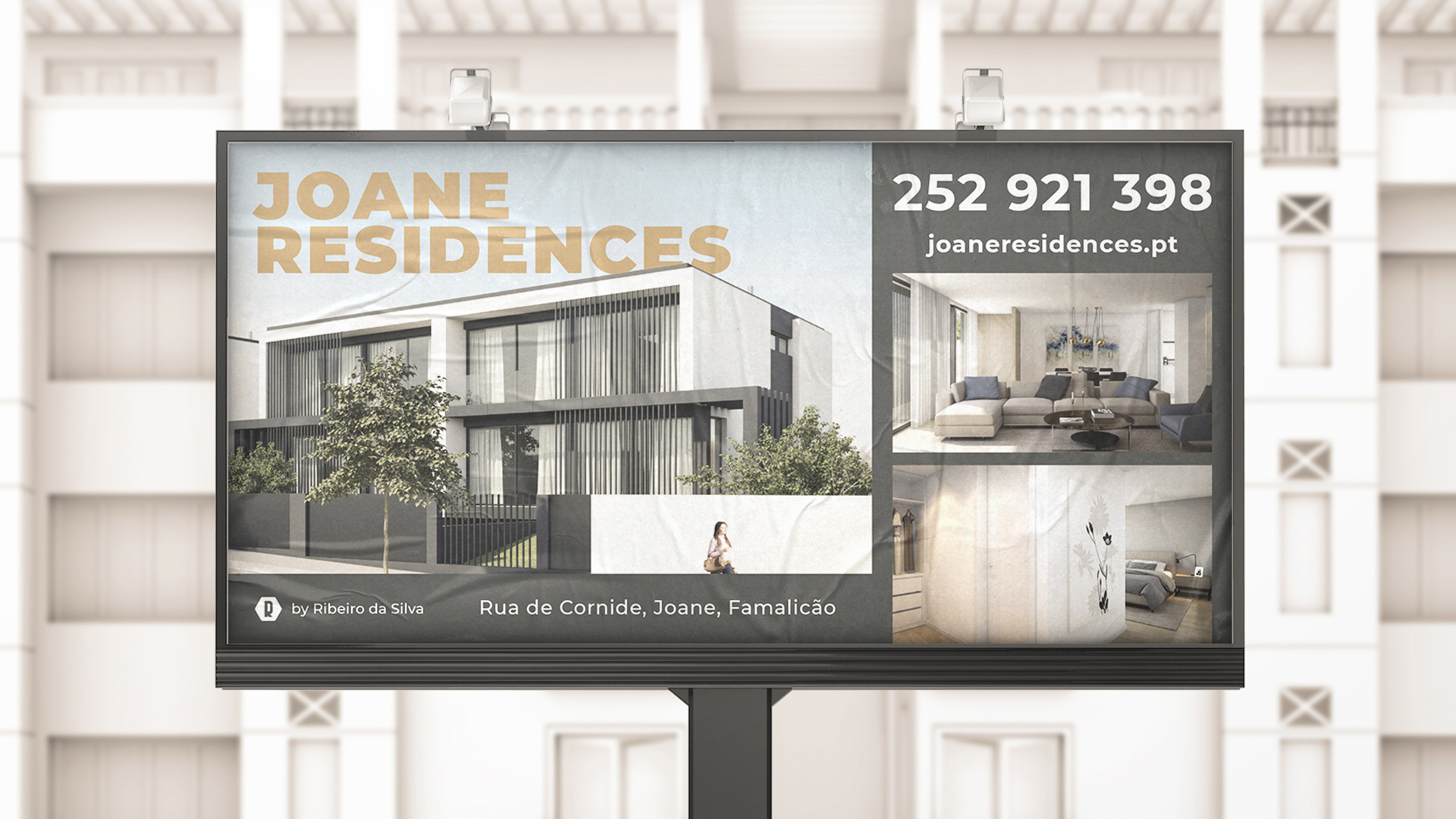 Outdoor Joane Residences, Branding
